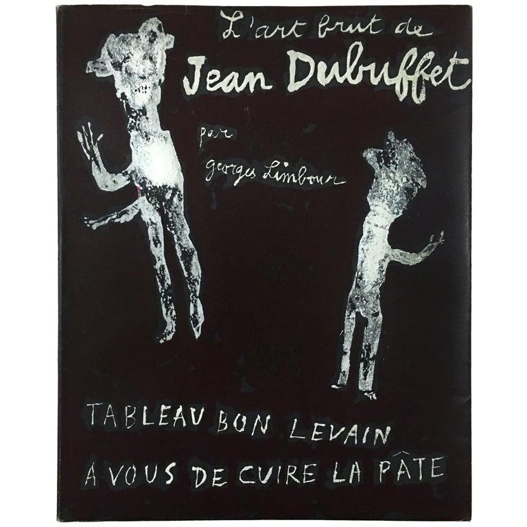 L'art Brut de Jean Dubuffet 1st Edition 1953 For Sale