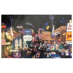 """""""Las Vegas 1983"""" Serigraph by Melanie Taylor Kent"""