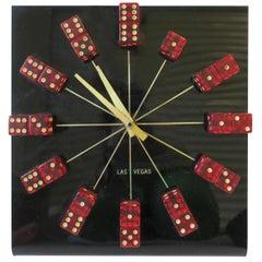 Las Vegas Acrylic Clock