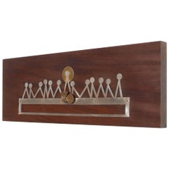 Last Supper Abstract Wall Sculpture Modernist Plaque by Emaus Benedictine Monks