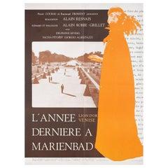 Last Year at Marienbad R1970s French Grande Film Poster