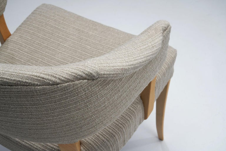 """""""Lata Greven"""" Pair of Armchairs by Carl Malmsten for AB OH Sjögren, Sweden, 1953 For Sale 5"""