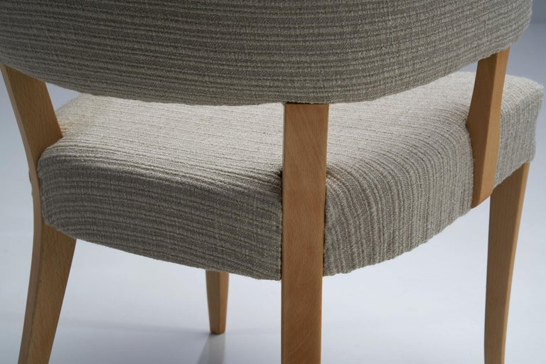 """""""Lata Greven"""" Pair of Armchairs by Carl Malmsten for AB OH Sjögren, Sweden, 1953 For Sale 6"""