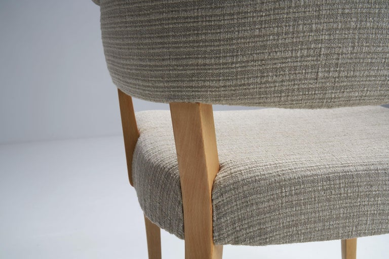 """""""Lata Greven"""" Pair of Armchairs by Carl Malmsten for AB OH Sjögren, Sweden, 1953 For Sale 8"""
