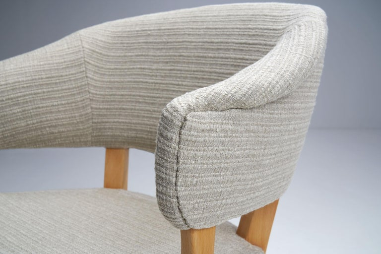 """""""Lata Greven"""" Pair of Armchairs by Carl Malmsten for AB OH Sjögren, Sweden, 1953 For Sale 12"""
