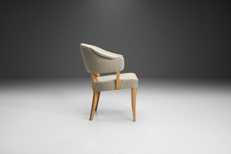 """""""Lata Greven"""" Pair of Armchairs by Carl Malmsten for AB OH Sjögren, Sweden, 1953 For Sale 1"""