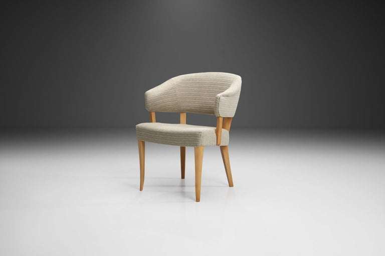 """""""Lata Greven"""" Pair of Armchairs by Carl Malmsten for AB OH Sjögren, Sweden, 1953 For Sale 2"""
