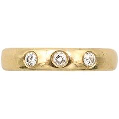 Latasha Lamar Diamond Drew Ring 14K Gold