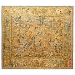 Late 16th Century Brussels Historical Tapestry, with Famed Roman General Scipio