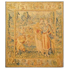 Late 16th Century Brussels Historical Tapestry with the Roman General Scipio