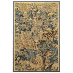 Late 16th Century Flemish Verdure Tapestry