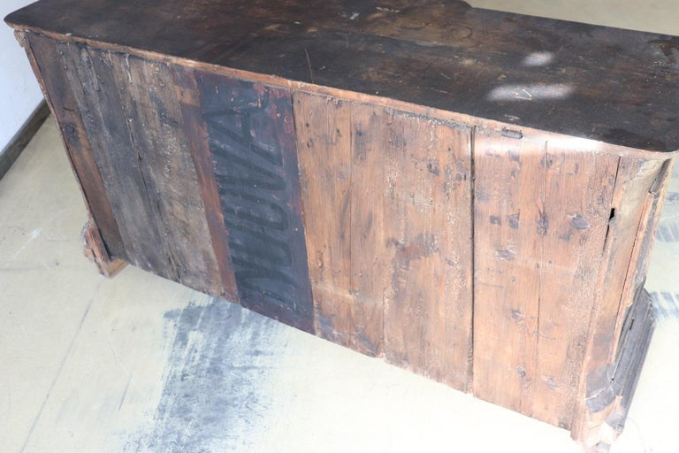 Late 16th Century Painting Wood Church Altar For Sale 14