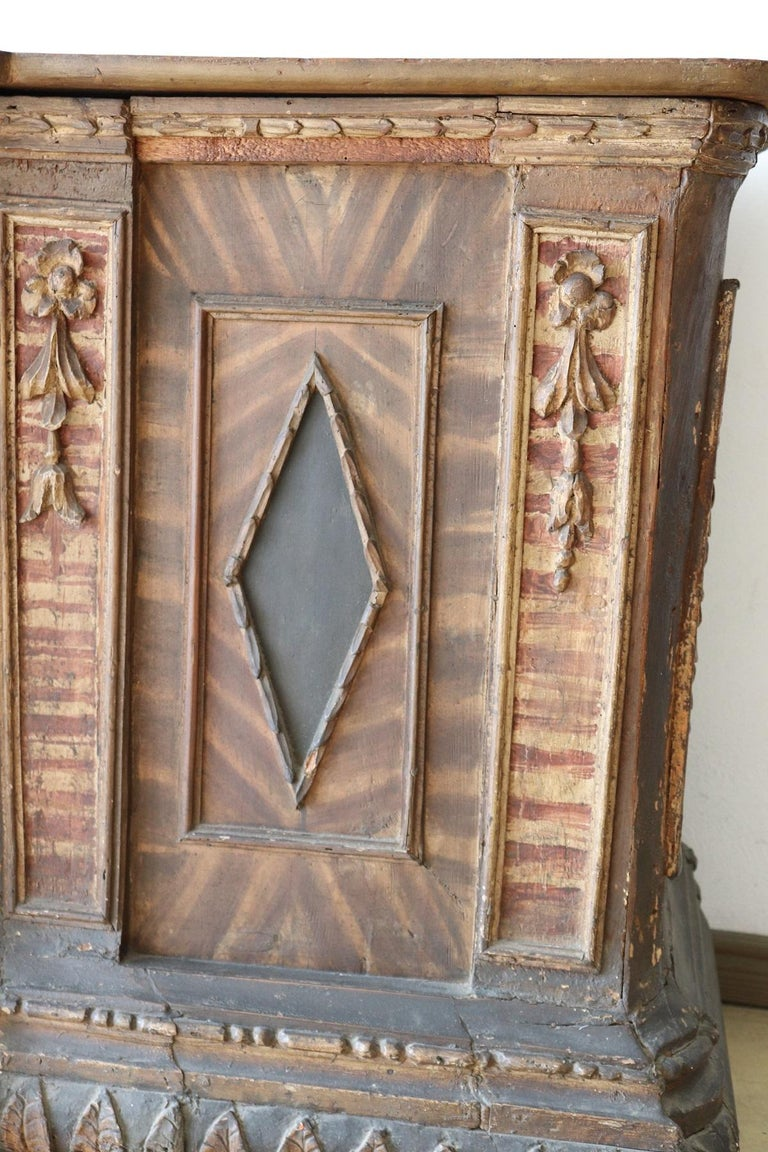 Late 16th Century Painting Wood Church Altar For Sale 4