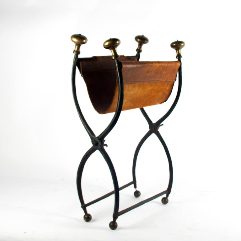 18th Century and Earlier Late 16th Century Renaissance Wrought Iron Stool For Sale