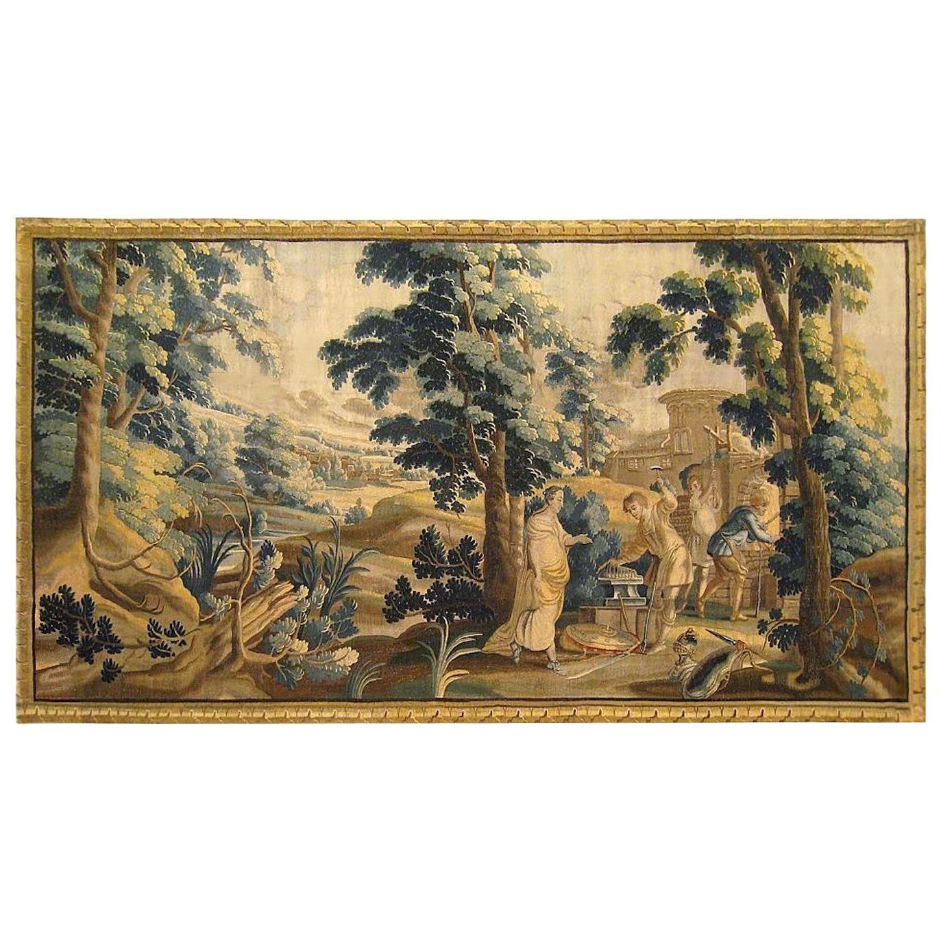 Late 17th Century Flemish Mythological Tapestry