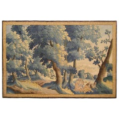 Late 17th Century Flemish Pastoral Landscape Tapestry