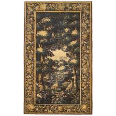 Late 17th Century Flemish Verdure Landscape Tapestry