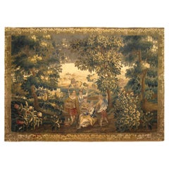 Late 17th Century Franco-Flemish Rustic Tapestry