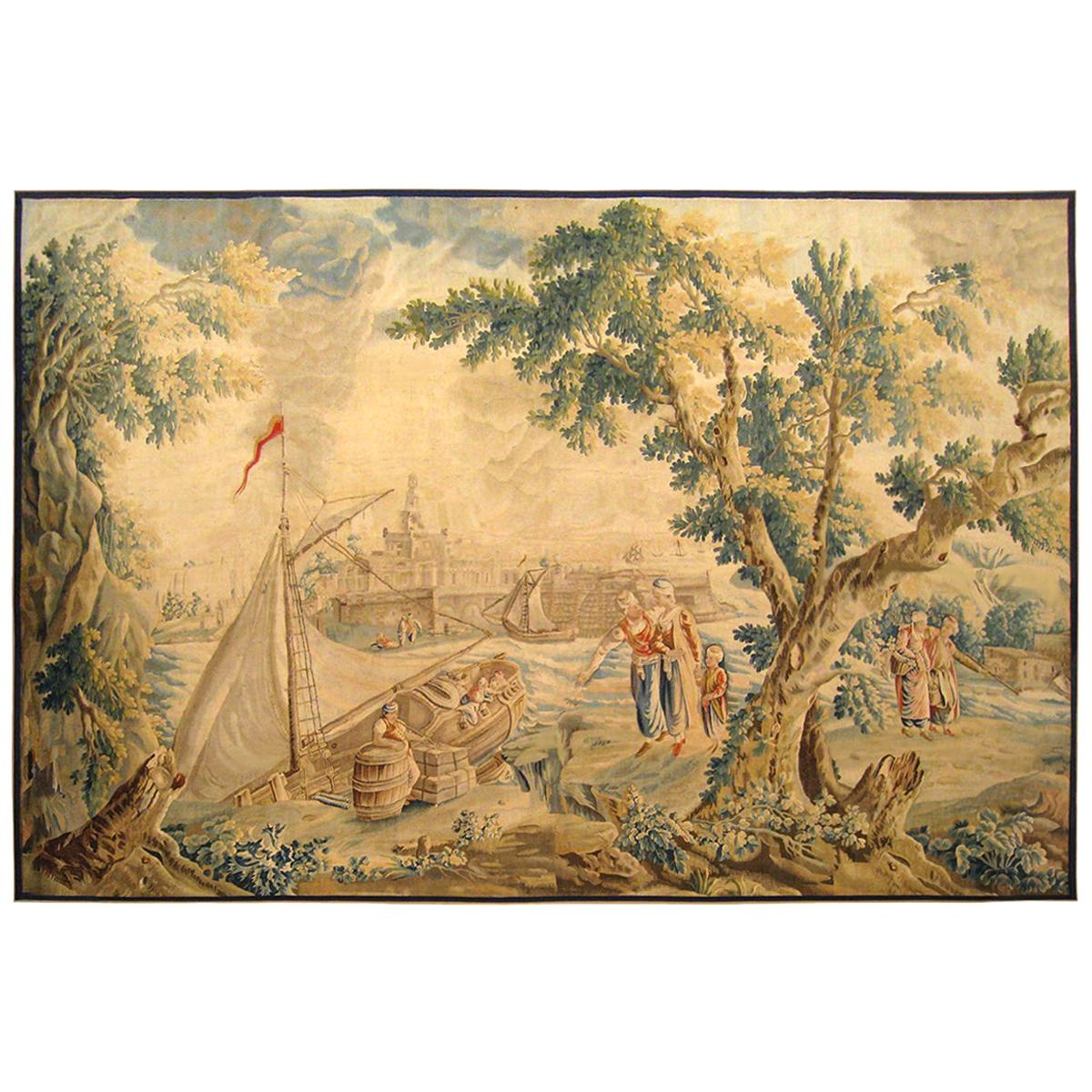 Late 17th Century French Aubusson Tapestry