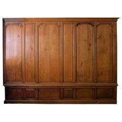 Late 17th Century Oak Paneled Room 3 Walls 2 Doors