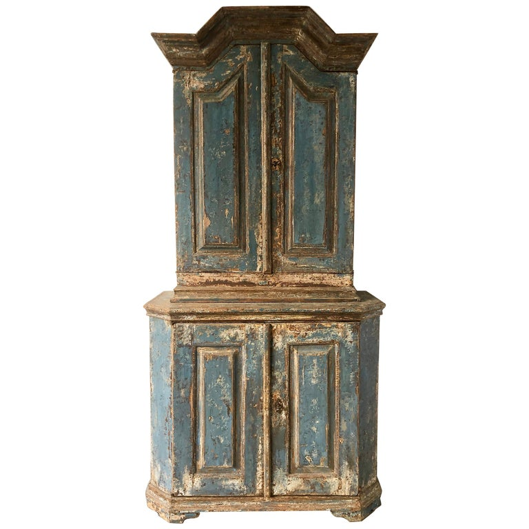 Late 17th Century Swedish Baroque Cabinet For Sale
