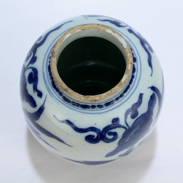Late 17th-Early 18th Century Dutch Delft Vase or Jar Marked for Gerrit Kam For Sale 4