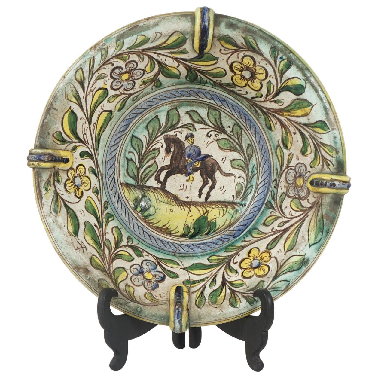 Late 17th-Early 18th Century Italian Majolica Bowl