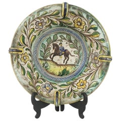 Late 17th-Early 18th Century Italian Majolica Bowl