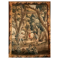 Late 17th or Early 18th Century Flemish Verdure Tapestry