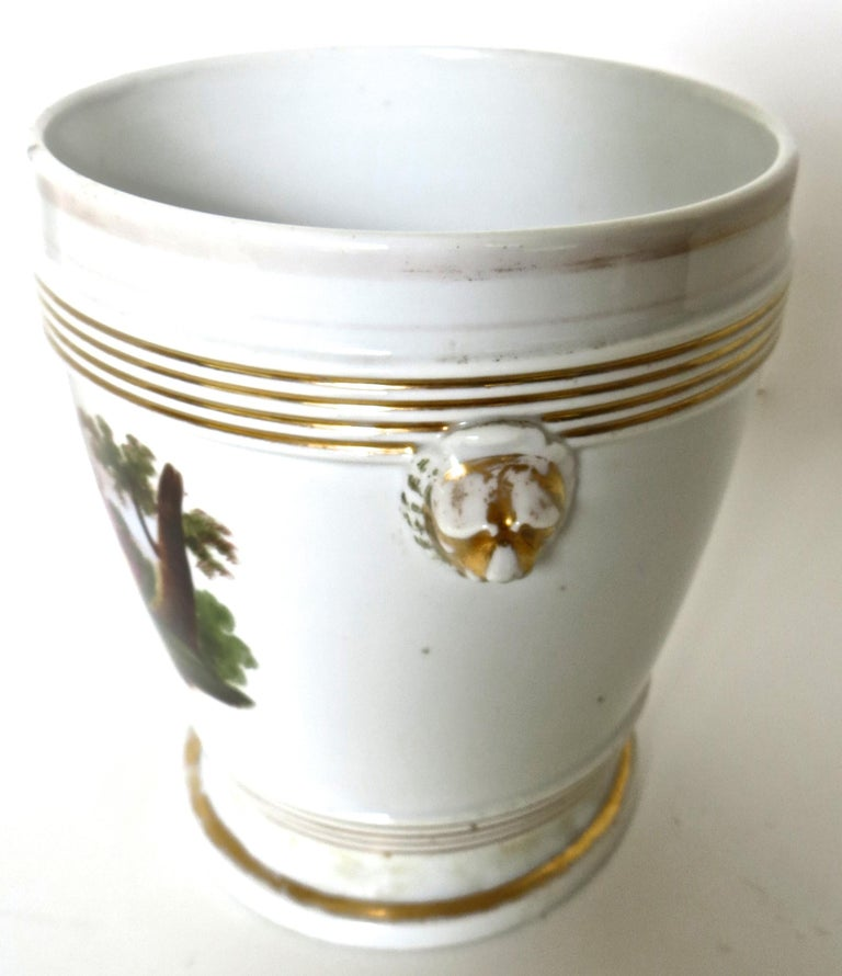 Georgian Late 18th Century English Faience Planter For Sale