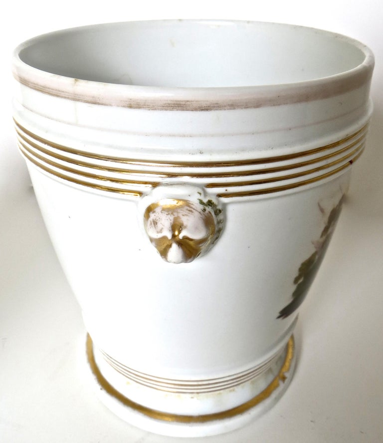 Late 18th Century English Faience Planter In Good Condition For Sale In Incline Village, NV