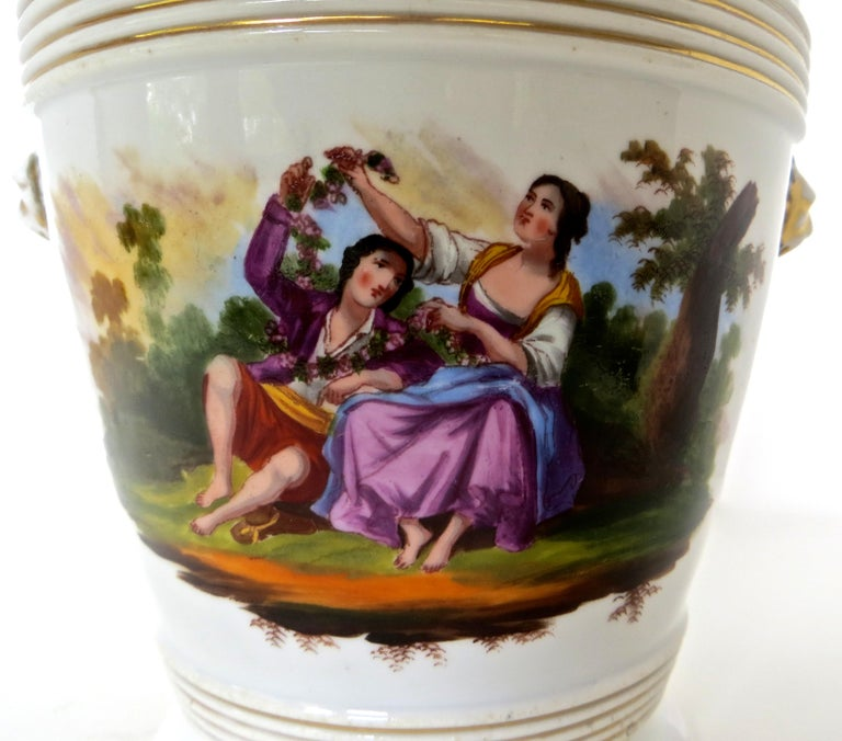 Late 18th Century English Faience Planter For Sale 1