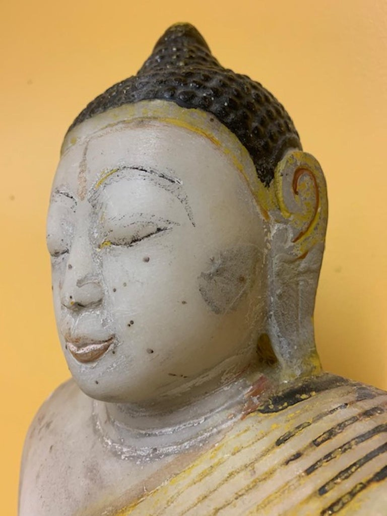Other Late 18th Century Stone Shan State, Burmese, Myanmar Buddha For Sale