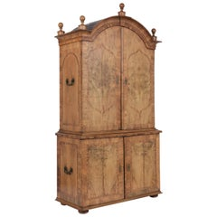 Late 18th Century Antique George II Cabinet