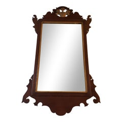 Late 18th Century Chippendale Mahogany Mirror