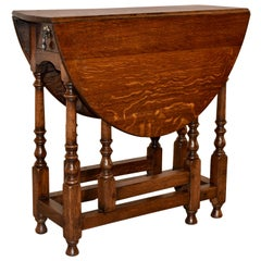 Late 18th Century English Gateleg Table