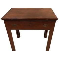 Late 18th Century English Mahogany Architect's Table