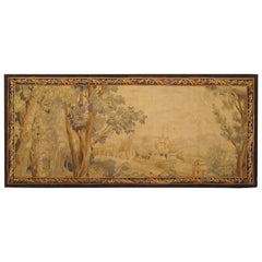 Late 18th Century French Landscape Tapestry