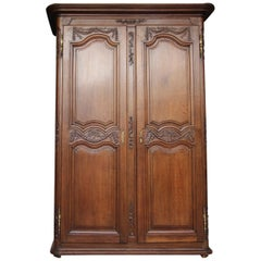 Late 18th Century French Provincial Louis XVI Cabinet or Armoire made of Oak