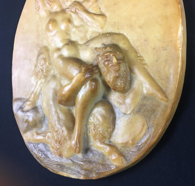 Hand-Crafted 19th Century French Bronze Sculpture Casting Lost Wax Decorative Object For Sale