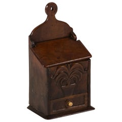 Late 18th Century Fruitwood Spice Box from England