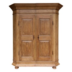 Late 18th Century German Baroque Armoire made of Pine