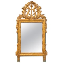 Late 18th Century Gilded French Mirror