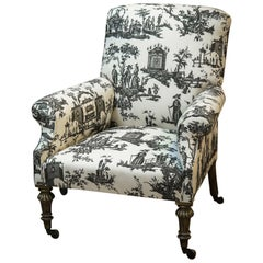 Late 18th Century Giltwood Country House Armchair
