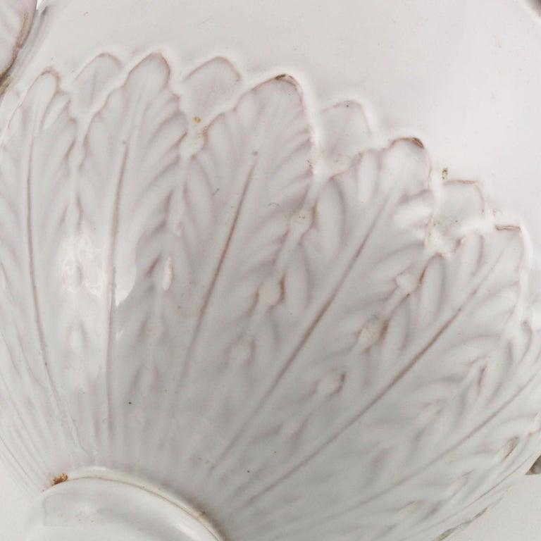 Late 18th Century, Greek Classic Enameled Terracotta Vase Ceramiche di Este For Sale 6