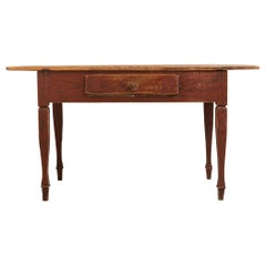 Late 18th Century Gustavian Styled Work Table