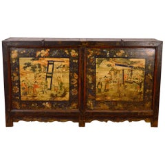 Late 18th Century Inner Mongolia Buffet or Grain Bin