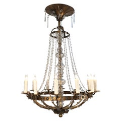 Late 18th Century Italian Neoclassical Chandelier
