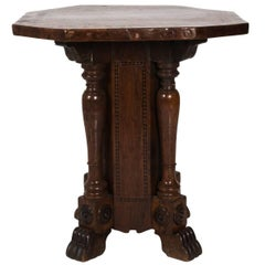 Late 18th Century Italian Pedestal Table