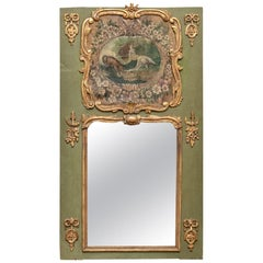 Late 18th Century French Louis XV Style Trumeau Mirror